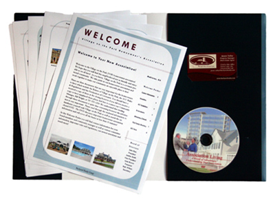 Complete HOA Resource - HOA Education, DVD, Welcome Packet